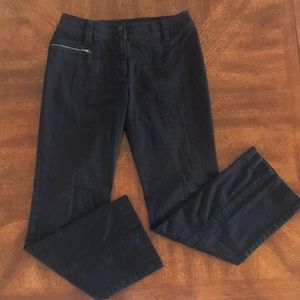 DKNY Black Flare Denim 6
